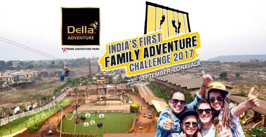 FAMILY CHALLENGE AT INDIA'S FAVOURITE ADVENTURE DESTINATION