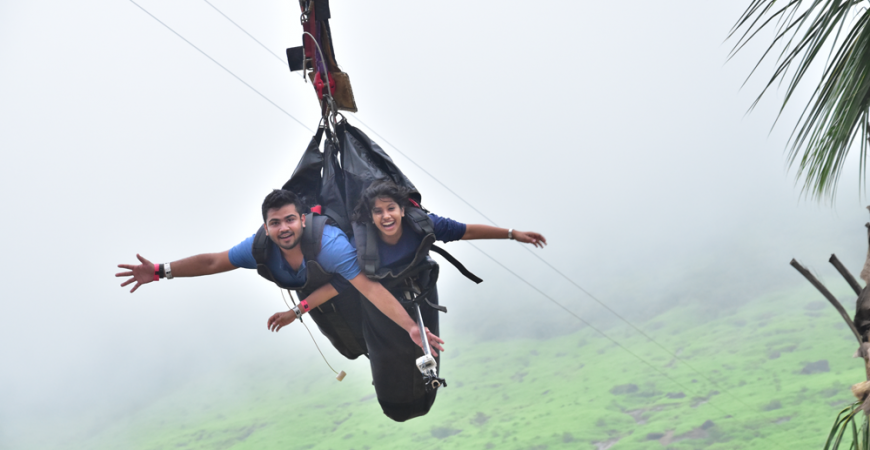 Relive your childhood in this monsoon at Della Adventure