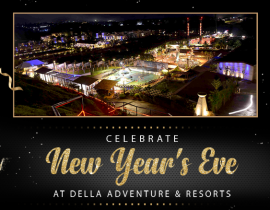 This New Year's Eve feel the Adrenaline Rush at Della