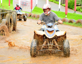 Have An Adventurous Monsoon At Della Adventure Park