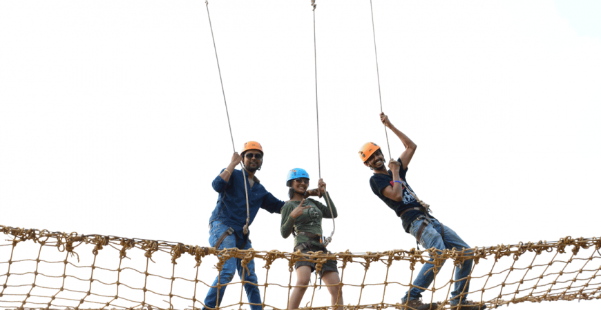 Rope Challenges at Della
