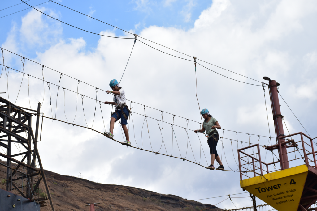 high-rope-challenge