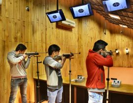 Try Your Hand at Target Shooting Activities at Della