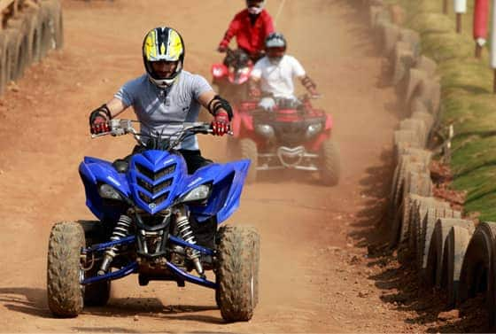Enjoy ATV at Della Adventure Park