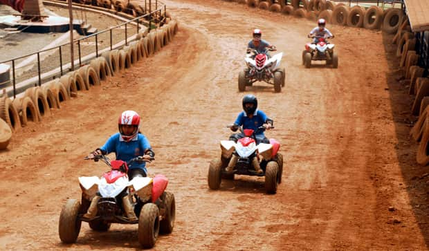 Enjoy ATV 90CCPolaris Ride at Della Adventure Park
