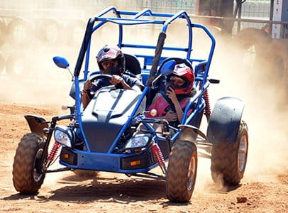 Experience Buggy Ride at Della Adventure