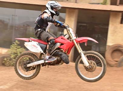 Enjoy Motocross Dirt Bike Ride at Della Adventure