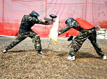 Play PaintBall at Della Adventure Park