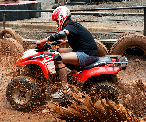 ATV 700CC Yamaha Raptor at Della Adventure Park