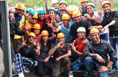 Team Outing at Della Adventure