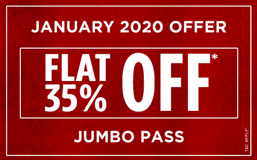 Della Adventure Park Jumbo Pass Offer