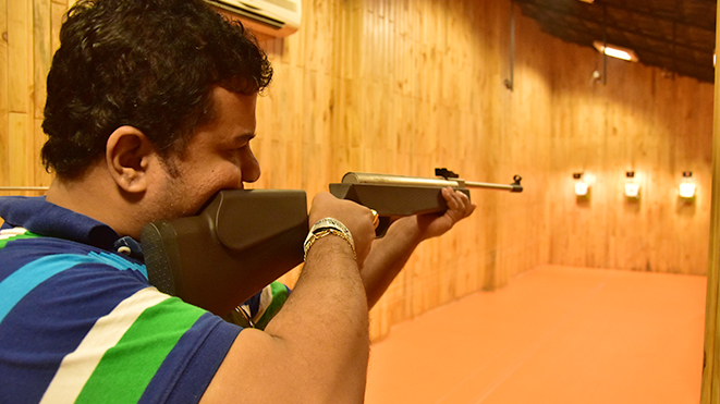 Enjoy Della Shooting Range at Della Adventure Park