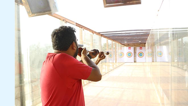 Enjoy Blowgun at Della