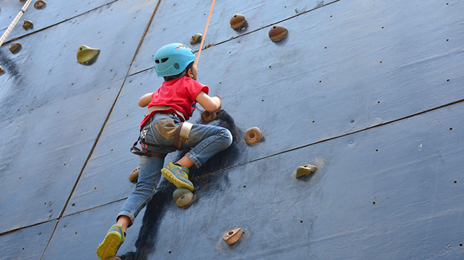 Try urban sport Artificial Rock Climbing at Della, Lonavla