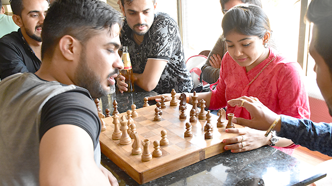 Play Chess - Indoor Game at Della Adventure Park