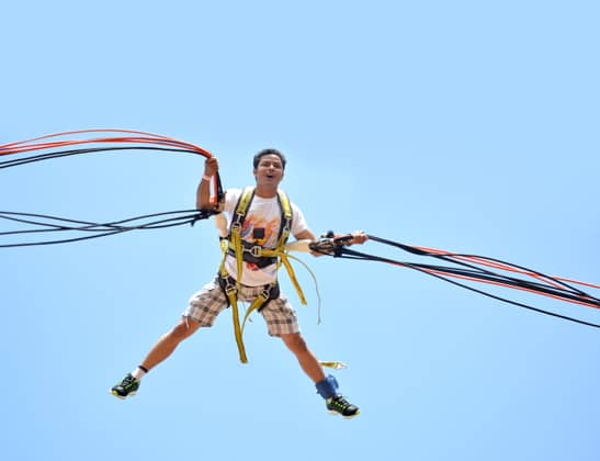 Try Rocket Ejector at Della Adventure