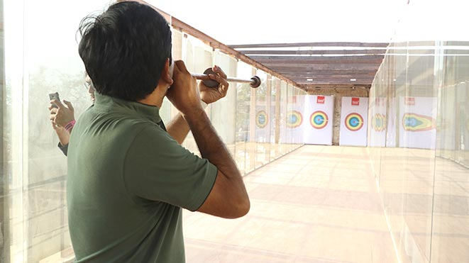 Experience Blowgun adventure sport at Della