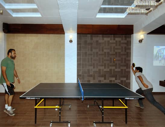 Play Table Tennis at Della Adventure