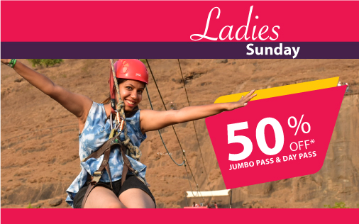 Della Adventure Ladies Sunday Offer