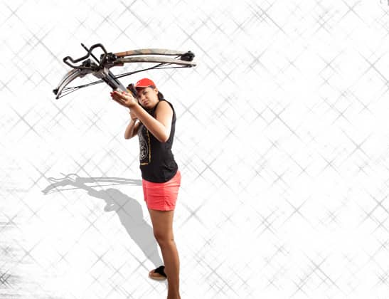 Play Cross Bow Sports at Della Adventure