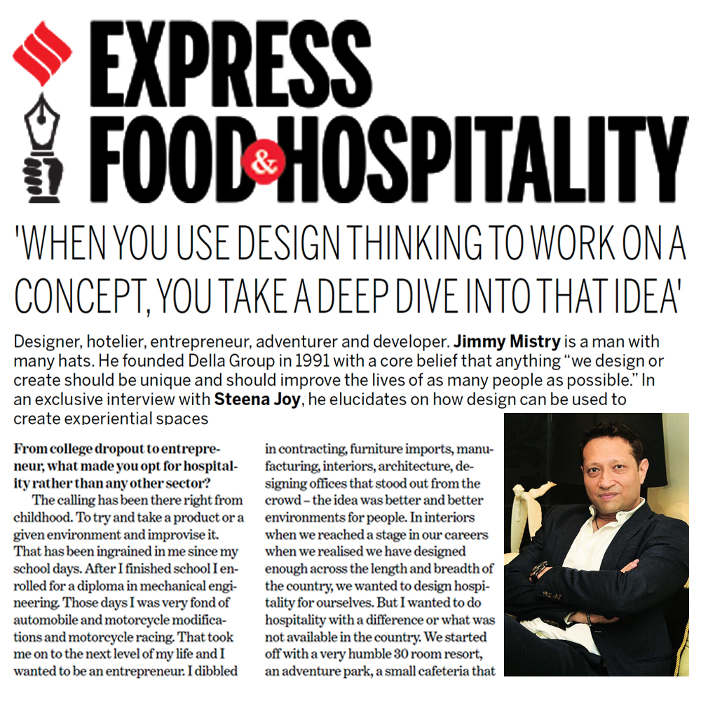 Jimmy Mistry on how design can be used to create experiential spaces and sharing the future roadmap for the group