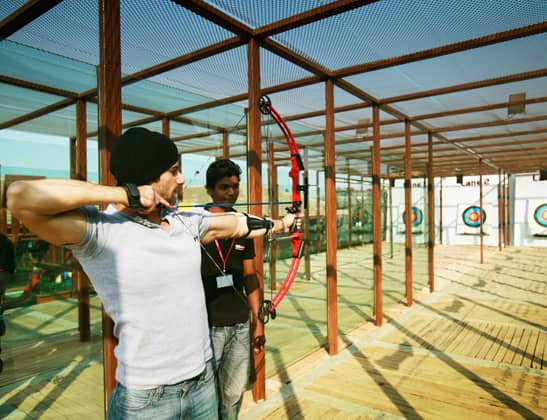 Play Archery - Compound Bow at Della Adventure Park
