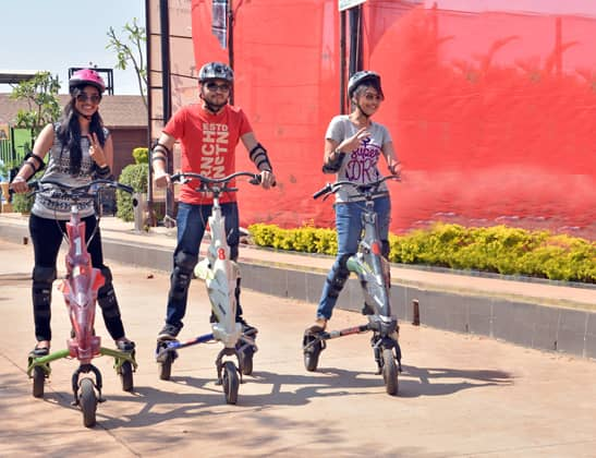 Experience Trikke at Della Adventure