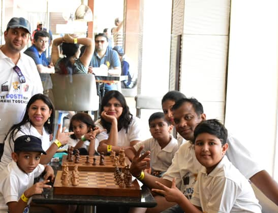 Play Chess at Della Adventure