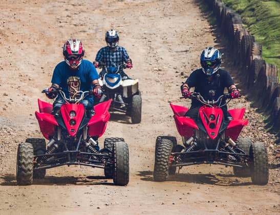 Experience ATV 90CCPolaris at Della Adventure