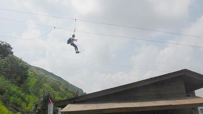 Enjoy Adventure Sport Flying Fox (500 ft) at Della