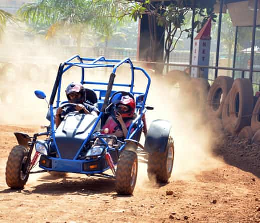 Take Buggy Ride at Della Adventure Park