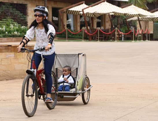 Play Cycle With Baby Wagon at Della Adventure
