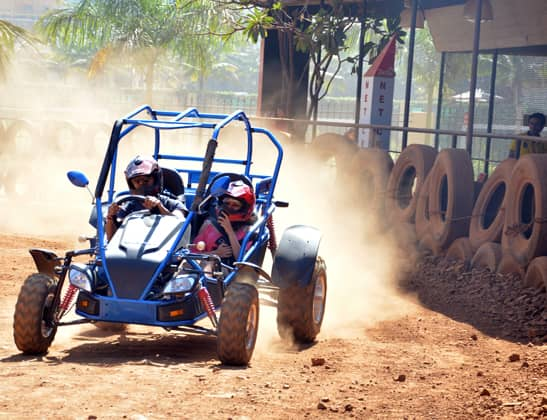 Play Buggy Ride at Della Adventure