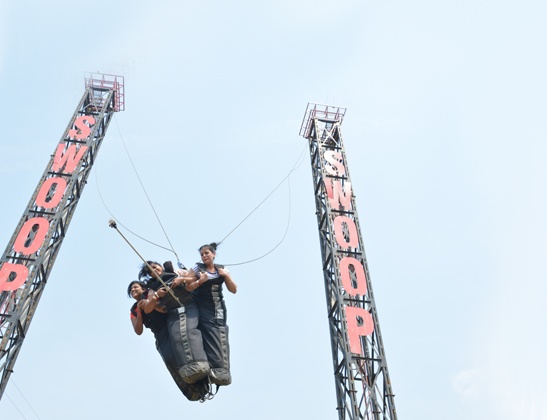 Perform India's Only Swoop Swing Sport at Della Adventure