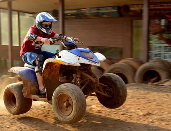 Experience ATV 200 CC Polaris at Della Adventure
