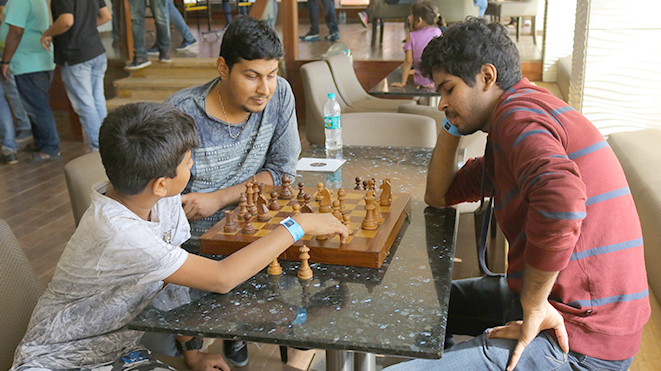 Play Chess at Della Adventure Park