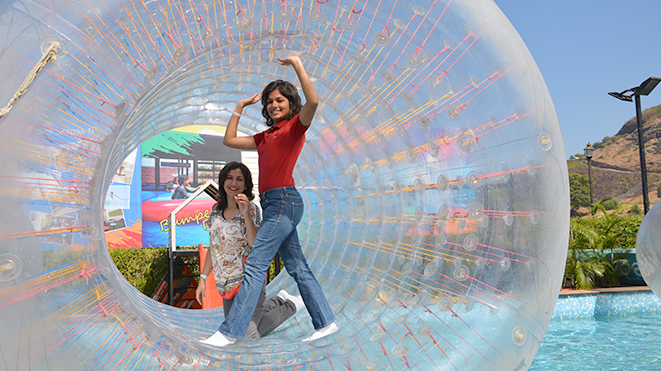 Must Try Amazing Roller Zorb at Della