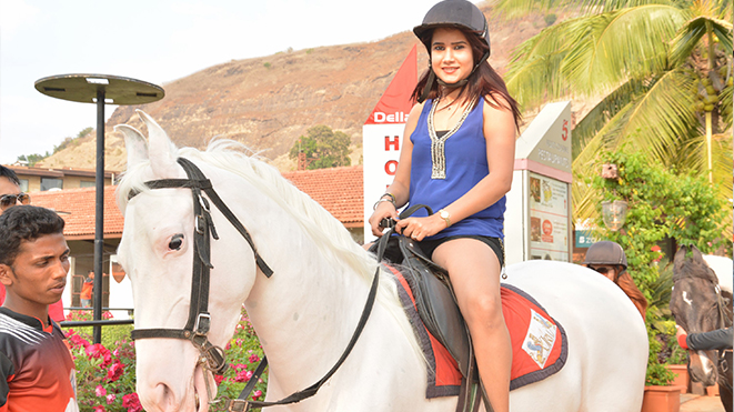 Experience Horse Trot at Della Adventure Park