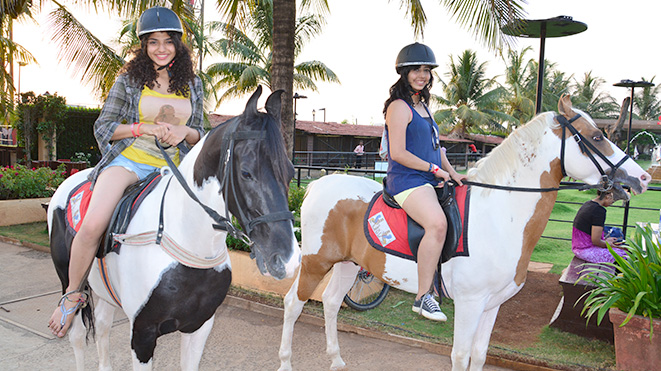 Must try Horse Trot at Della Adventure Park